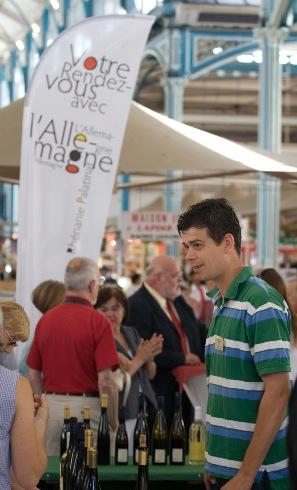 12 et 13 décembre 2008: Vin de Rhénanie-Palatinat sous les halles de Dijon