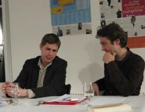25 et 26 novembre 2008: L'écrivain allemand Daniel Kehlmann à Dijon