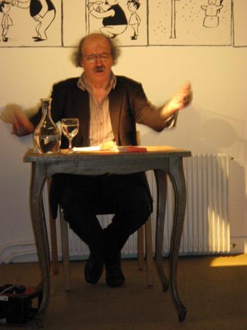 14 novembre 2007 à 18h30 : L'écrivain suisse allemand Urs Widmer…