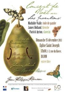 15 décembre 2013 à 17h00: Concert de Noël